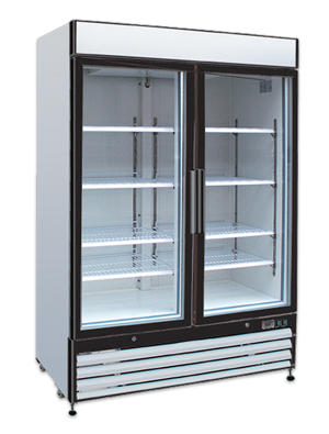 New Self-Contained (2)-Door cooler