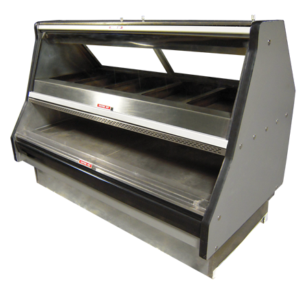 Remanufactured 6' Hot Food Merchandiser